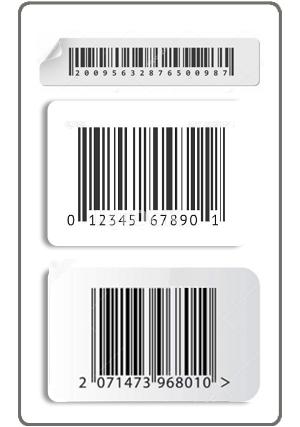 Impresión de Código de Barras en Etiquetas Plasticas y de papel